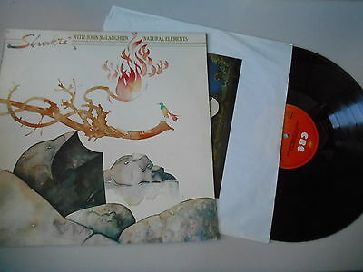 LP Ethno Shakti w/John McLaughlin - Natural Elements (9 Song) CBS / OIS