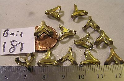 12 Pendant Charm Bunny Bail 11mm Jewelry Necklace Findings Repair Chain Craft
