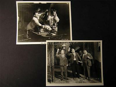 1930 Laurel And Hardy Murder Case 2 MOVIE PHOTO LOT 605W