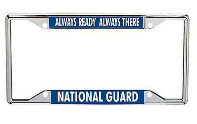 National Guard Metal License Frame Every State