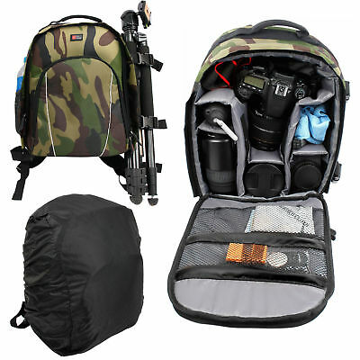 Camera Backpack / Camouflage Rucksack for Canon EOS 5D Mark II/mk II, EOS 350D