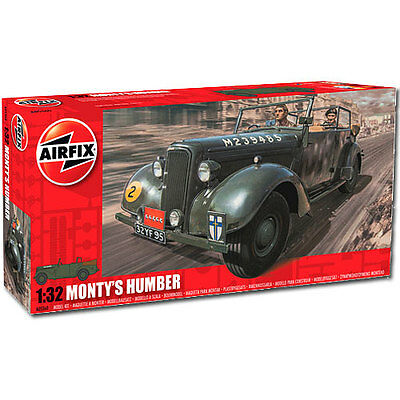 AIRFIX Monty's Humber Snipe Staff Car 1:32 Military Plastic Model Kit A05360