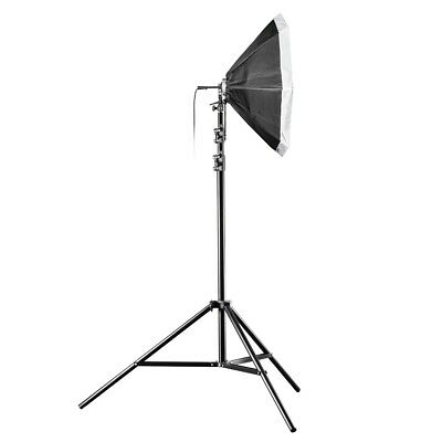 walimex Studioset Daylight-Set 360 mit Softbox Ø80cm, 360W, E27