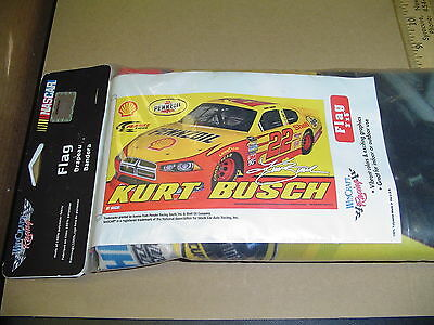 SALE NEW Kurt Busch #22 Pennzoil 3'X5' Nascar House Party Tailgate banner Sale