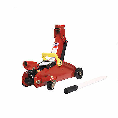 Sealey Trolley Jack 2tonne Short Chassis with Storage Case 1100CXD
