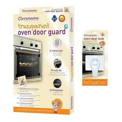 Clevamama Oven Door Safety Pack (Guard & Lock)