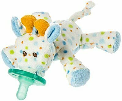 New Mary Meyer Wubbanub Infant Baby Soothie Pacifier ~ Little Stretch Giraffe