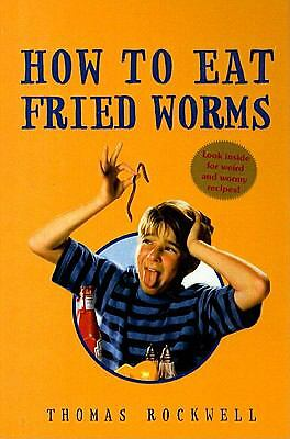 How to Eat Fried Worms by Thomas Rockwell (1978, Hardcover)