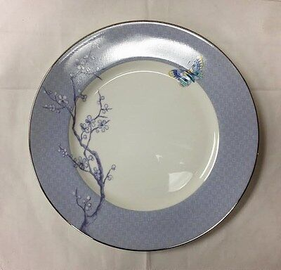 "Royal Worcester ""kimono"" Dinner Plate 10 3/4"" Bone China New Made In England"