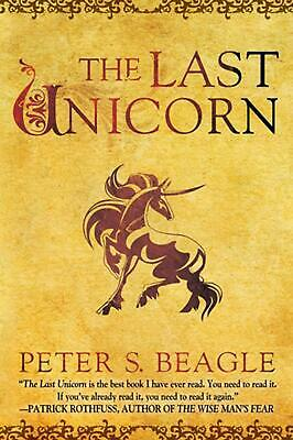 The Last Unicorn by Peter S. Beagle Paperback Book (English)