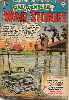 Star Spangled War Stories Comic Book #6, DC Comics 1953 VERY GOOD-