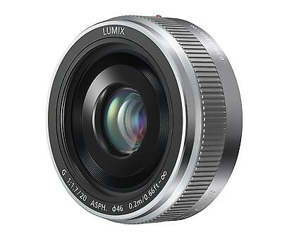Panasonic Lumix G 20mm F/1.7 II ASPH Lens for Micro 4/3 (Silver)
