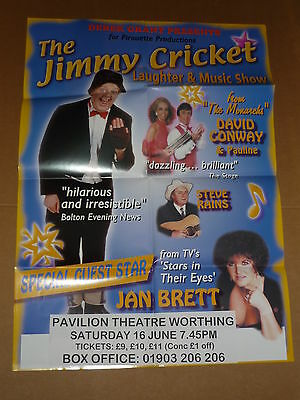Jimmy Cricket 2001 Concert Poster + Programme (Autographed)