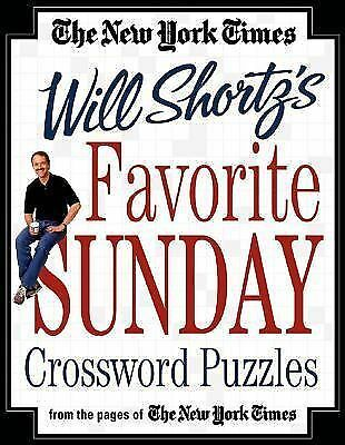 The New York Times Will Shortz's Favorite Sunday Crossword Puzzles : From the...