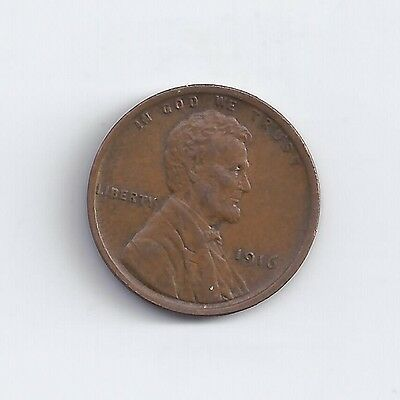 1916-P  Lincoln Wheat Cent in AU