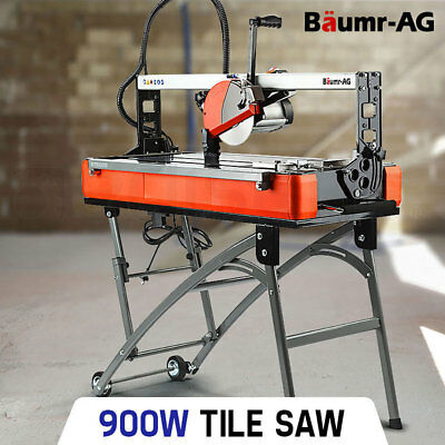 Baumr-AG BTS200 Tile Saw- Wet Cutting Table Rail Bridge Cutter Porcelain Ceramic