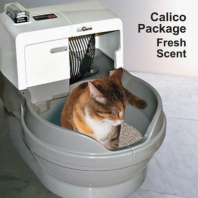 CatGenie 120 Self Cleaning Litter Box - Calico Package