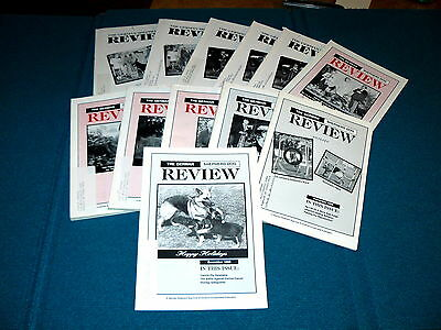 Full Year 1996 : The GERMAN SHEPHERD DOG REVIEW Publication @ CLUB of AMERICA