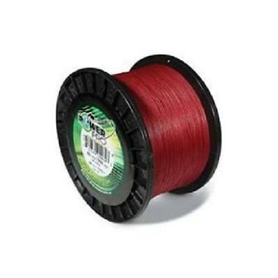 Power Pro Spectra Braided Fishing Line 50 Lb. 1500 Yds. Vermillion Red FREE SHIP