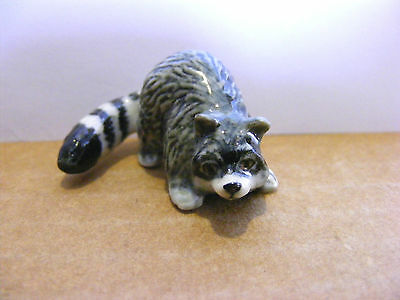 Klima Raccoon Tail Curved Miniature Animal Figurine Support Wildlife Rehab