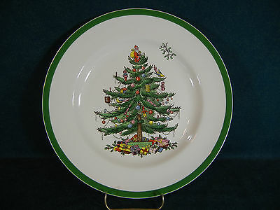 Spode Christmas Tree Dinner Plate(s)  Made in England