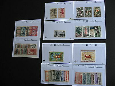 ALGERIA nice old assembly in sales cards,unverified,check them out!