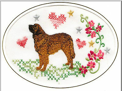 Pointer Birthday Card or Notecard Embroidered by Dogmania