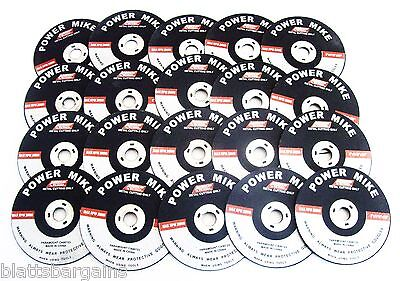 "20 Ate Pro Power Mike 3"" Air Cut-Off Wheels Disc 1/16"" Thick Metal Cutting 40146"