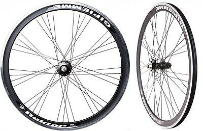 RACING ROAD BIKE WHEELSET Raktor (700C/29er WHEELS) in BLACK DISC 7 8 9 10 Speed