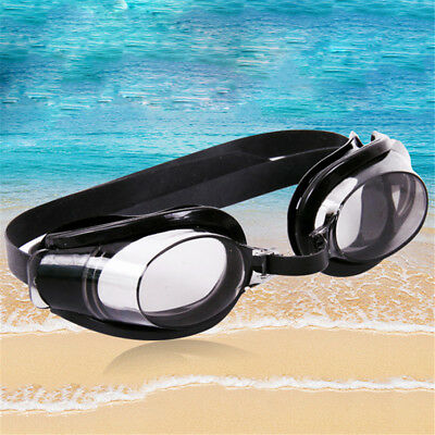 Outdoor Diving Glasses Beach Seamed Swimming Goggles Eyeglass Earplug&Nose Clip