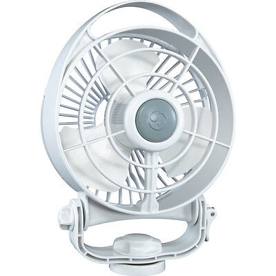 Caframo 748CA-WBX Bora 12V Multi-Purpose 3-Speed White Marine Ventilation Fan