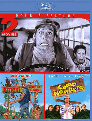 Ernest Goes to Camp/Camp Nowhere (Blu-ray Disc, 2013)  Jim Varney