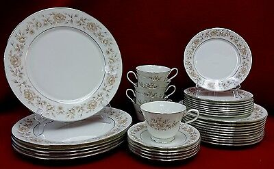 OXFORD Lenox china WAKEFIELD 36-piece SET SERVICE cup saucer dinner salad bread