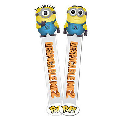 Funko POP! 3D Bookmark - Despicable Me 2 - SET OF 2 (Carl & Dave) - New
