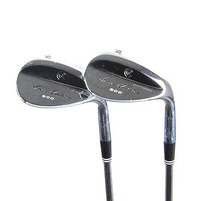 New Cleveland 900 Form Forged Chrome Wedges 54* & 58* Uniflex Steel RH