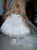 HALF SLIP 4 your 20 inch IDEAL SHIRLEY TEMPLE DOLL CLOTHES