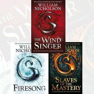 Wind on Fire Trilogy Series 3 Books Collection Set by William Nicholson New Pack