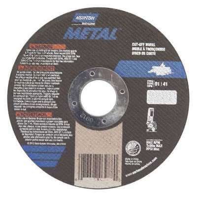 NORTON 07660701617 Abrasive Cutoff Wheel, 4-1/2 x .040 x 7/8