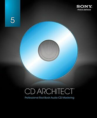 Sony CD Architect 5.2 (Download) for Windows - Auth Dealer!!