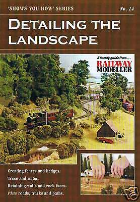 Peco Shows You How Booklet No. 14 Detailing the Landscape for Model Railways New