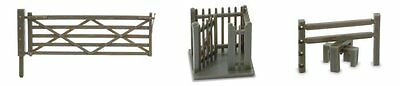 Peco NB-46 N Gauge Gates and Stiles Fencing for Model Railway Layouts New