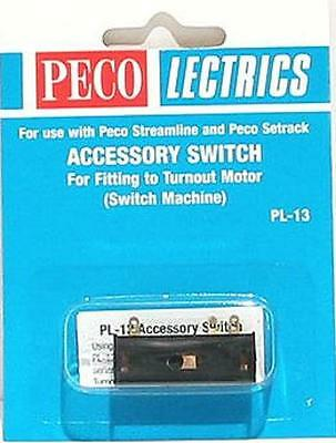 Peco Lectrics PL-13 Accessory Switch for Model Railway PL-10 Point Motors New