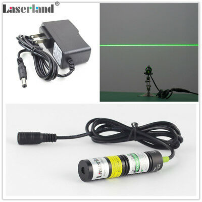 532nm 10mW Industrial Green Laser Line Module Long Time Working DC3-5V