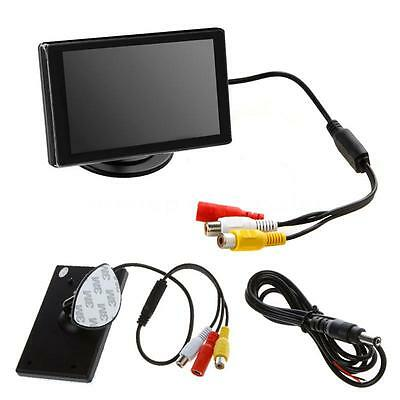 3.5 inch TFT LCD Color Screen Car Rearview Monitor For Reversing Camera DVD VCD