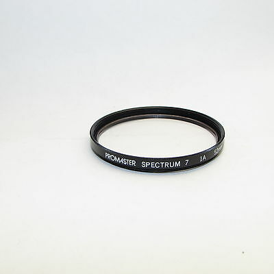 Used Promaster Spectrum 7 skylight 1A 52mm Lens Filter Made in Japan S311456