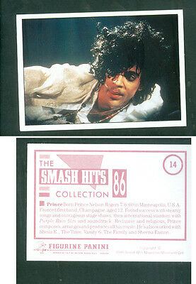 Prince 7x10 cm Sticker! Brand New! n.14! Notes on the Back! 1986!