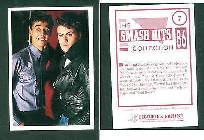 Wham! 7x10 cm Sticker! Brand New!! n.7! Notes on the Back! 1986!