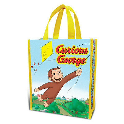 Curious George Small Recycled Shopper Tote/Gift Bag