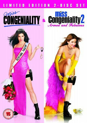 Miss Congeniality 1 and 2 DVD (2005) Sandra Bullock