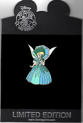 DISNEY Tinkerbell as a Southern Belle Pin LE 250 NEW ON CARD TINK
